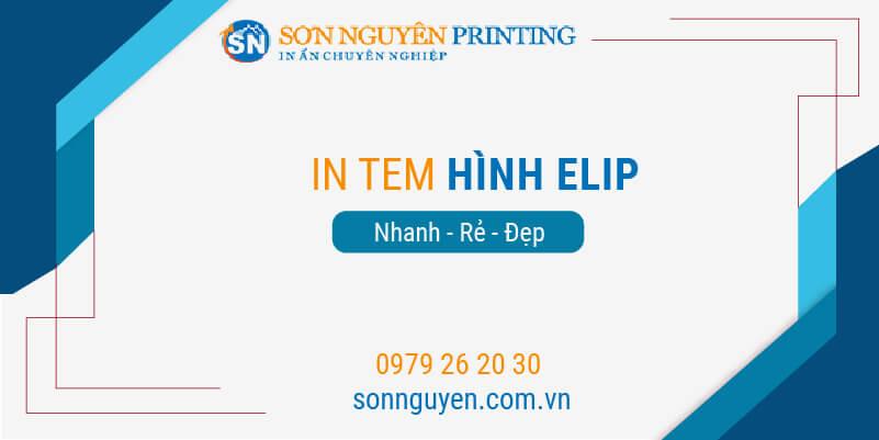 in tem hình elip tại Sơn Nguyên